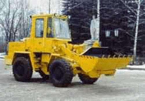 loader pk pv and backhoe made in russia
